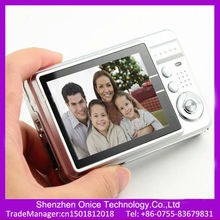 2.7 TFT Screen cheapest digital camera price 4x Digital Zoom Anti Shake and red eye reduction function digital camera in china