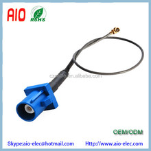 15cm 1.13mm 1.37mm GPS antenna Extension cable Fakra C plug to u. FL / IPX female jack pigtail cable