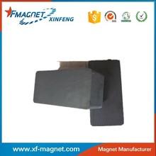 large block ferrite magnet manufacture