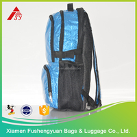 Hot China products wholesale Glitter PVC waterproof extreme sports backpack