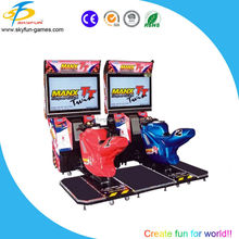 coin operated 32 inch Manx TT (double player) arcade game machine motorcycle
