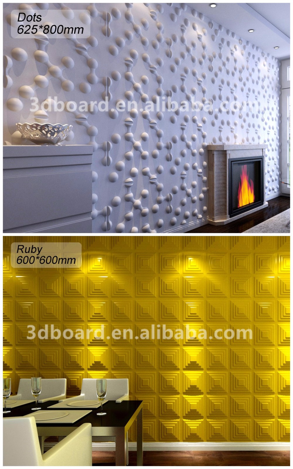 Sound Proofing Cheap Wall Paneling 3d Wall Paper For Restaurant ...