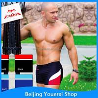 2015 Hot sale sexy boxer briefs mens swimwear