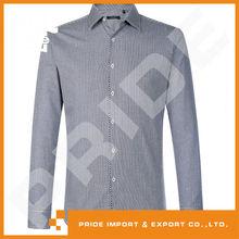 PR-WY206 men's shirt fabric 100% cotton yarn dyed dobby shirting fabric