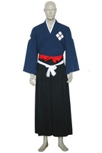 Samurai Champloo Jin Cosplay Costume Adult Halloween Party traje do quimono personalizado trajes Cosplay Kimono Sets Anime S-3XL