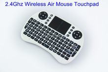 2.4GHz Wireless mini Keyboard Mouse Air Mouse with Touchpad for Android TV Box, Media Player