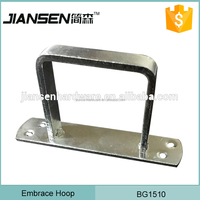 Promotional Hanging pipe Metal square tube clamp