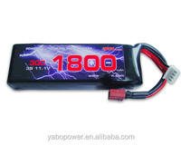 High quality 11.1V 30C 3S 1800mah Lipo Battery for airsoft /gun/RC model/hobby