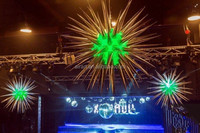 live show pointed floating inflatable star stage decoration