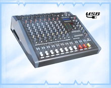 Professional USB mixing console PMD-8USB power mixer