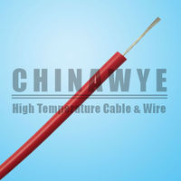 UL3135 3512 copper conductor silicone rubber coated cable