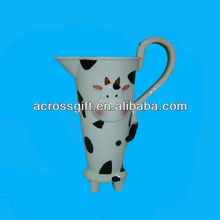 3d Cow ceramic animal mug