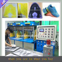 Great quality 2015 automatic KPU shoe vamp/upper making machine of high cost effective