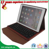 PU leather case for ipad air 2 case , for ipad 6 case , tablet cover flip leather case for ipad 6 with the bluetooth keyboard
