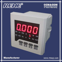 Free Sample Available Multifunction Digital Panel Digital Multimeter with RS-485 RH-D31