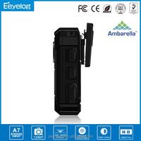 Made in china 2800mAh builid-in battery 21Mega pixels police mini camera police body camera car dvr police camera