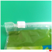 slider ziplock fruit bag with air holes for grape packaging bag