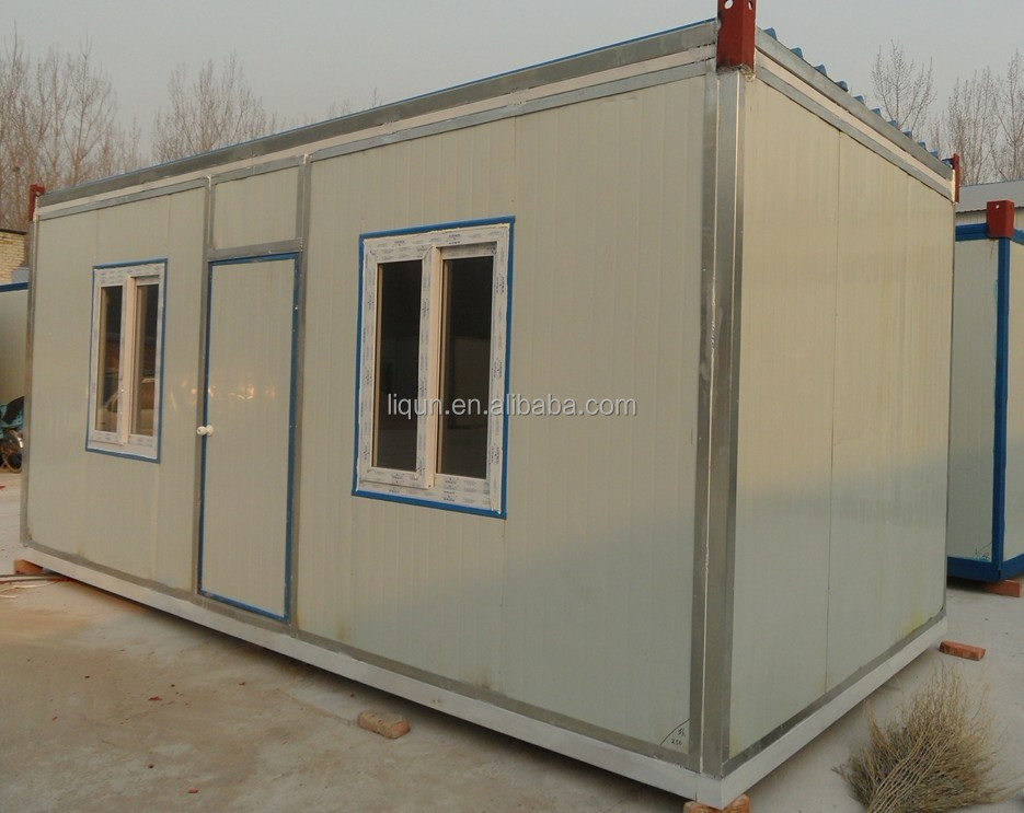 Small prefab houses underground container houses for Prefabricated underground homes
