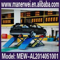 High-tech 3D wheel alignment 4 wheel aligner four post car lift