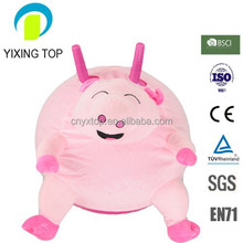 2015sheep-hom handle funny animal cover skipping ball