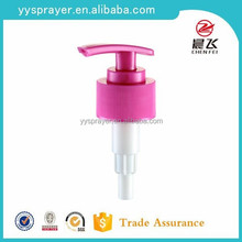28 410 fine plastic decorative lotion pump for bottles with good quality and competitive price