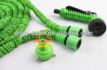 25ft-50ft-100tf length of hose with a set of euro connectors and water gun FOR GARDEN