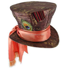Carnival party hat Alice in Wonderland Movie Mad Hatter Hat Child HT2895