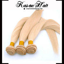 World Best Selling Products Honey Blonde Brazilian Hair Weave And 100% Cheap Human Platinum Blonde Virgin Hair Weft