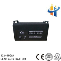 Lead acid battery 12V 100AH , 100AH vrla battery, 12V 100AH volta battary for ups