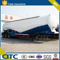 CITC 38 cbm bulk cement/powder tank semi trailer for sale (diesel engine, air compressor optional)