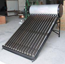The Novel Domestic Compact Evacuated Tube Solar Water Heater