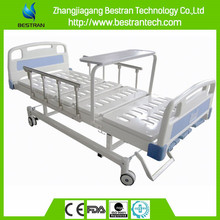 Chinese BT-AM112 patient beds three function manual bed hospital medical patient bed with wheels