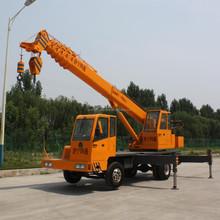 Dual Winches U Jib Boom 28m Truck Crane with 10 Ton Capacity,Small Lifting Mobile Crane