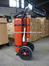 50kg CO2 Cartridge ABC Type Dry Powder Fire Extinguisher with trolley