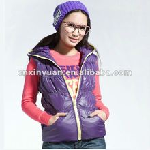 women's winter without sleeve 2014