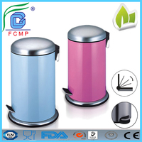 Eco-Friendly stainless steel stangding ash bin for bathroom