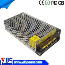YDS OEM dc power supply 24v 5a 120w switching power supply metal case, ac dc power supply 24v
