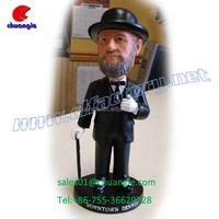 Polyresin Bobble Head Figurines Dolls Customized