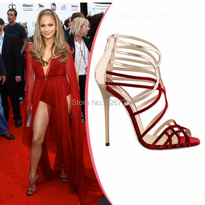 Red Carpet Woman Shoes