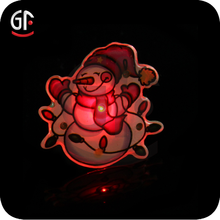 2015 New Items Arts And Craft Durable Flashing Blinking Badge