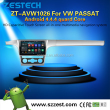 2 din android car dvd player with GPS BLUETOOTH RADIO DVB-T DVB-T2 for VW PASSAT android 4.4