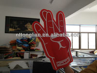 2015 new style and various colors cheering foam finger