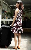 For Women Elegant Shape 100 Cotton Dresses