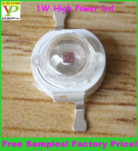 Free Samples! Top factory! Whole sale Epistar chip 1w high power led CE&RoHS