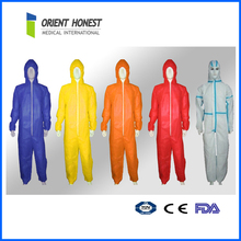 Safety coverall/protective disposable fire retardant coverall