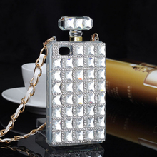 Mobile Phone Luxury Diamond Perfume Bottle Rhinestone Cell Phone Protective Case