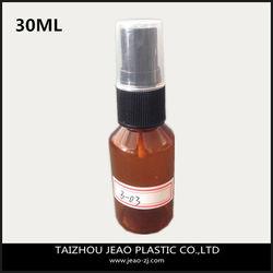 Hotsale 30ml PET pocket sized perfume spray bottle