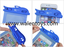 new design wholesale customized waterproof cell phone bag