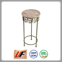 Export Quality Newest Design Holiday Decoration New Style Colorful Small Balcony Table