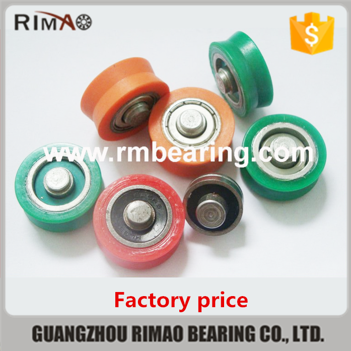 Small Plastic Pulleys : V groove small plastic pulley view